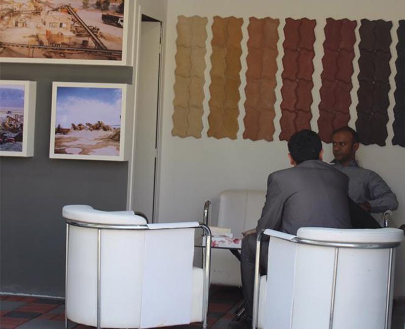 تصویر محیطی نمایشگاه